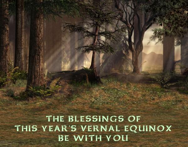 Vernal Equinox Blessing