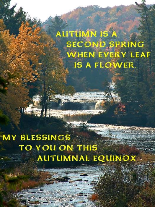 Autumn Equinox Blessing