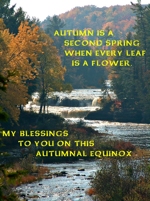 Autumn Equinox Blessing