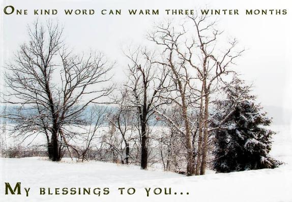 Winter Blessing