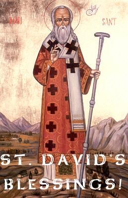 St. David Blessing